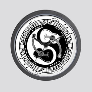guitar-yang-toony-LTT Wall Clock