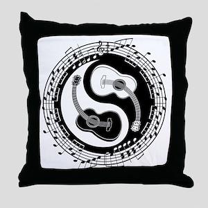 guitar-yang-toony-LTT Throw Pillow