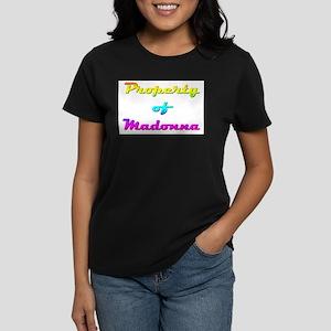 Property Of Madonna Female Women's Dark T-Shirt