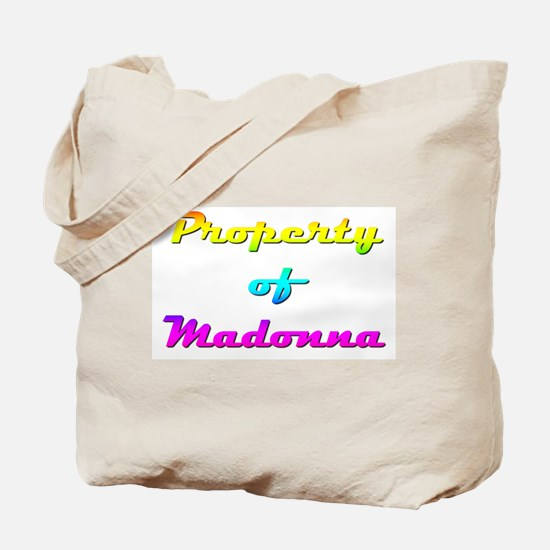 Property Of Madonna Female Tote Bag