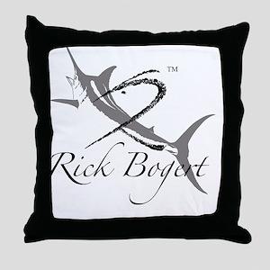 R bogert Logo Throw Pillow