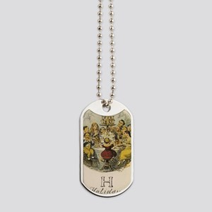 H is for Holidays Dog Tags