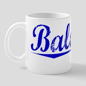 Balducci, Blue, Aged Mug