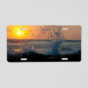 Sunset in Costa Rica Aluminum License Plate