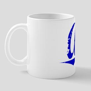 Ault, Blue, Aged Mug
