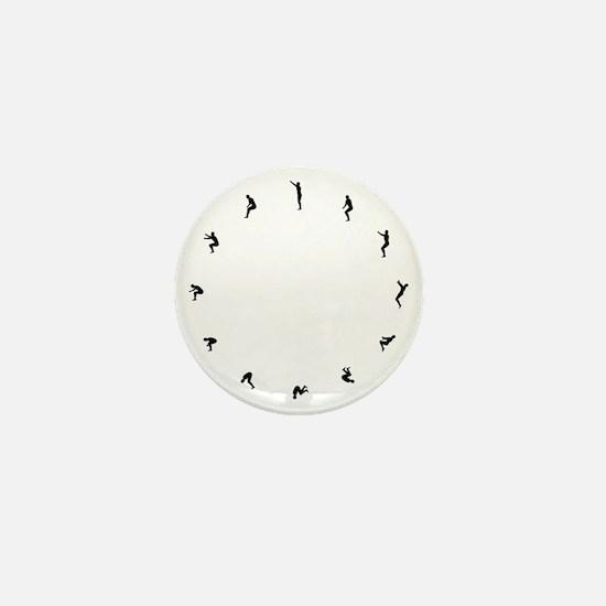 Flip Around Mini Button
