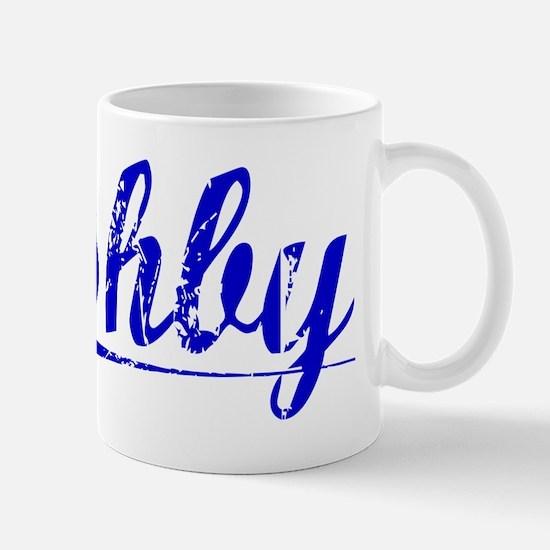 Ashby, Blue, Aged Mug