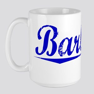 Barbara, Blue, Aged Large Mug