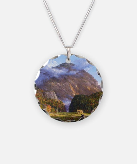 Thomas Cole A View Of The Mo Necklace