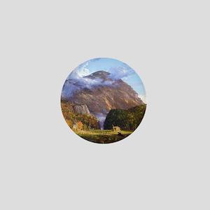 Thomas Cole A View Of The Mountain Pas Mini Button