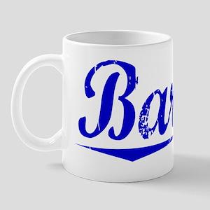 Barone, Blue, Aged Mug