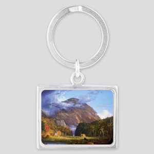 Thomas Cole A View Of The Mount Landscape Keychain