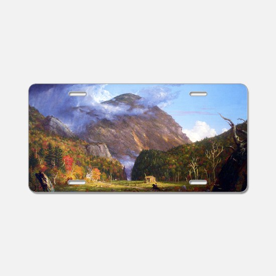 Thomas Cole A View Of The M Aluminum License Plate