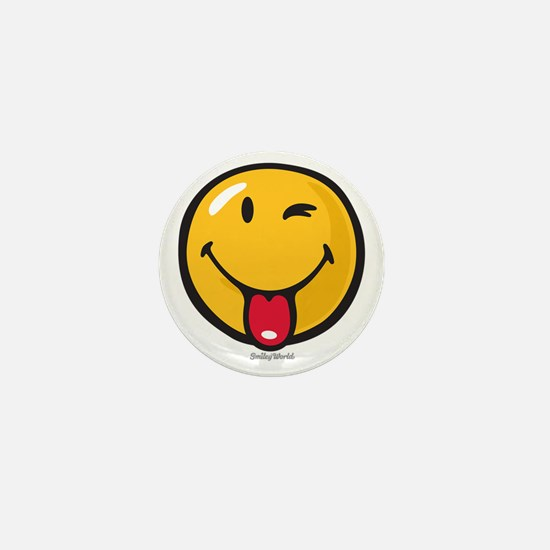 Smileyworld Playful Mini Button
