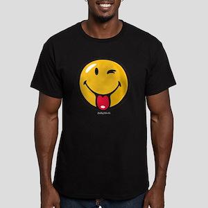 Smileyworld Playful Men's Fitted T-Shirt (dark)