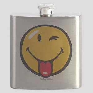 Smileyworld Playful Flask