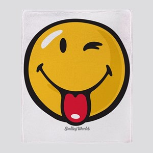 Smileyworld Playful Throw Blanket