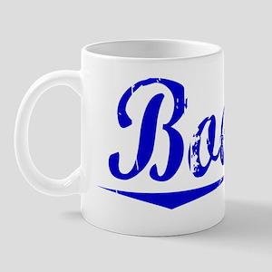 Boehm, Blue, Aged Mug