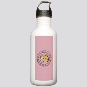Sing Soft Kitty Stainless Water Bottle 1.0L