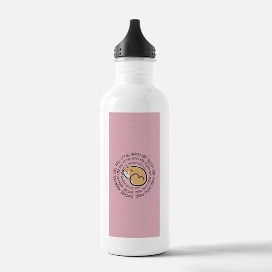 Sing Soft Kitty Water Bottle