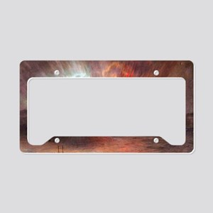 Frederic Edwin Church Aurora  License Plate Holder