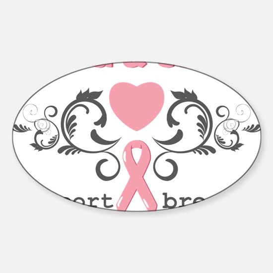 Find a cure Sticker (Oval)