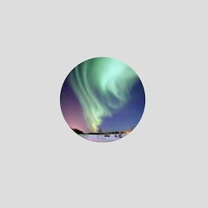 Alaska Aurora Mini Button