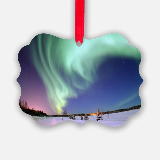 Alaska Aurora Ornament