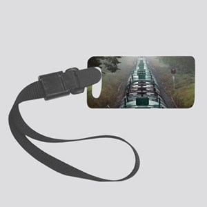 Tanker train Small Luggage Tag