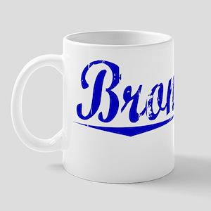 Bronstein, Blue, Aged Mug