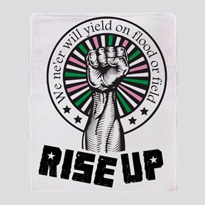 Rise Up II Throw Blanket