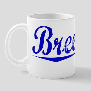 Breeding, Blue, Aged Mug