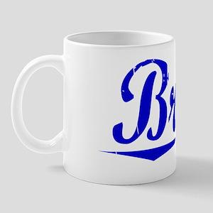 Brian, Blue, Aged Mug
