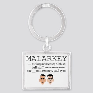 Malarkey Landscape Keychain