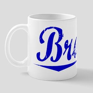 Brawn, Blue, Aged Mug