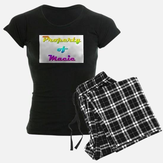 Property Of Macie Female Pajamas