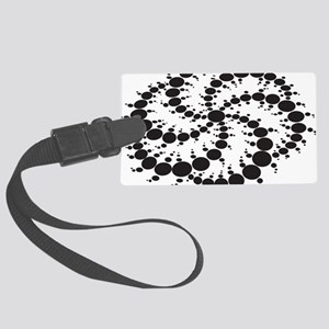 Crop Circles Consciousness Large Luggage Tag