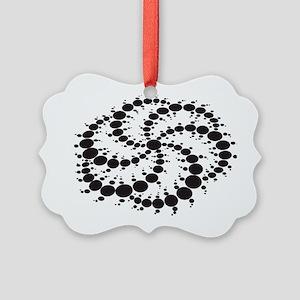 Crop Circles Consciousness Picture Ornament