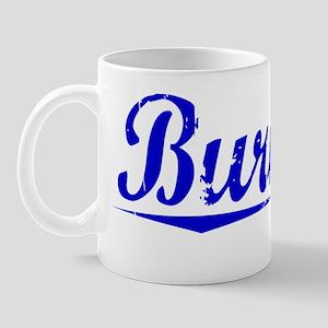 Burnley, Blue, Aged Mug