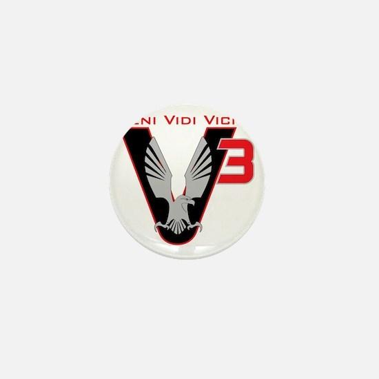 V3 logo Mini Button