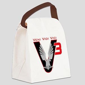V3 logo Canvas Lunch Bag
