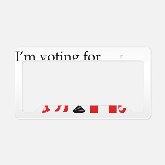 I'm voting for a new set of L License Plate Holder