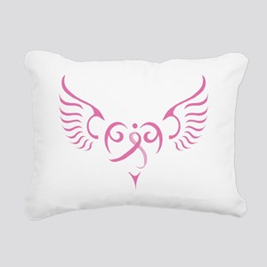 Breast Cancer Awareness  Rectangular Canvas Pillow