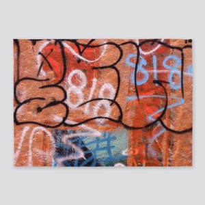 Venice Graffiti 2 King 5'x7'Area Rug