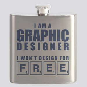 NO FREE DESIGNS Flask