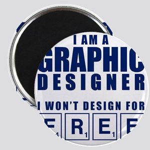 NO FREE DESIGNS Magnet