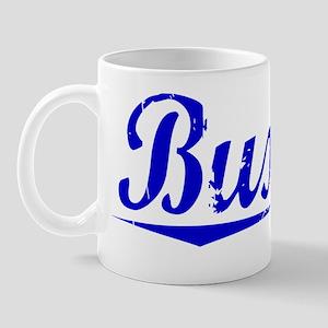 Buxton, Blue, Aged Mug