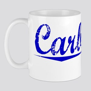 Carbonell, Blue, Aged Mug