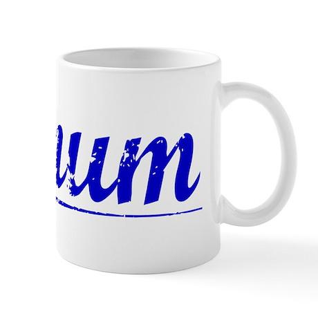 Bynum, Blue, Aged Mug