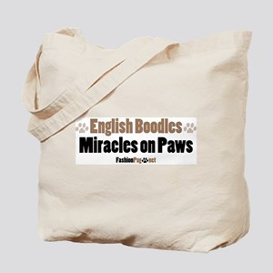 English Boodle dog Tote Bag